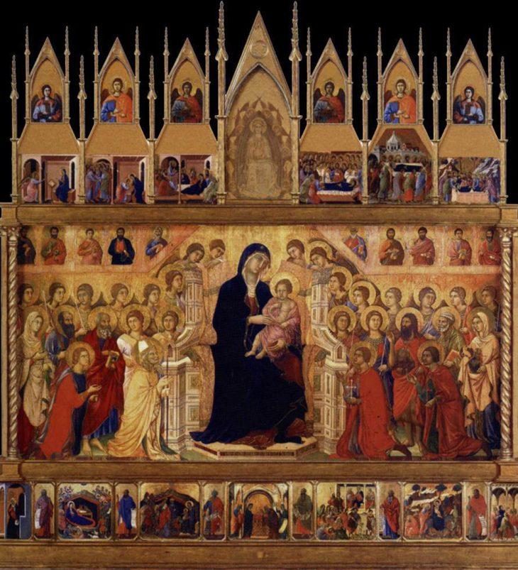 Resultado de imagen de pintura gotica