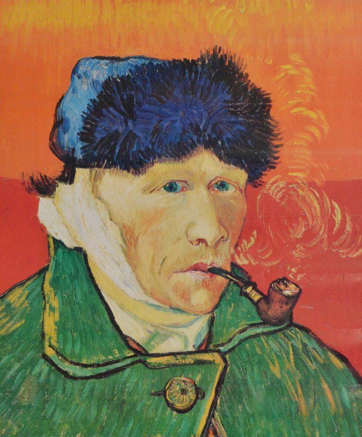 Van Gogh. Autorretrato con oreja vendada y pipa (1889). - 3 ...