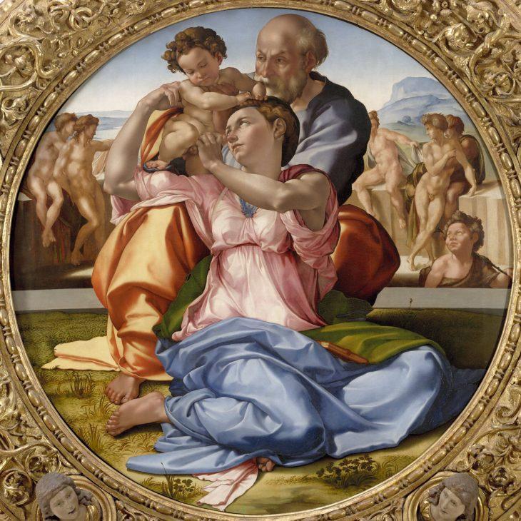 Tondo Doni 1506 08 Miguel ángel 3 Minutos De Arte