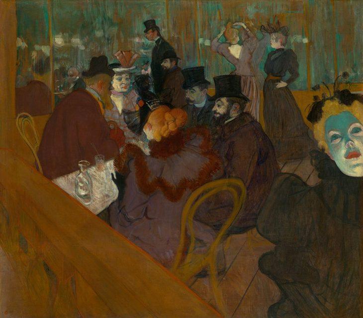 Lautrec En el Moulin Rouge 1879