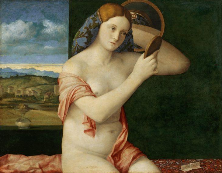 Bellini Venus frente al espejo
