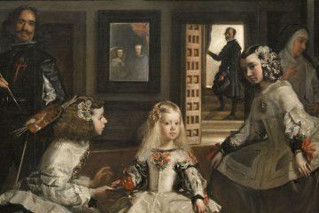 Velázquez Las meninas 1656 mini
