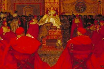Cowper Lucrecia Borgia reina en el Vaticano hacia 1908 mini
