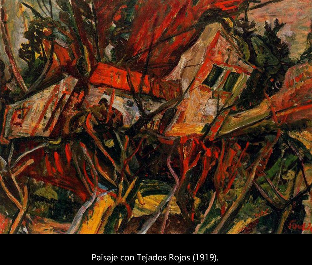 El paisaje expresionista de Soutine. - 3 minutos de arte