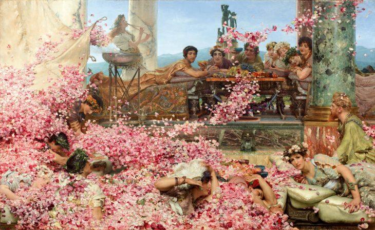 Alma-Tadema Las rosas de Heliogábalo 1888