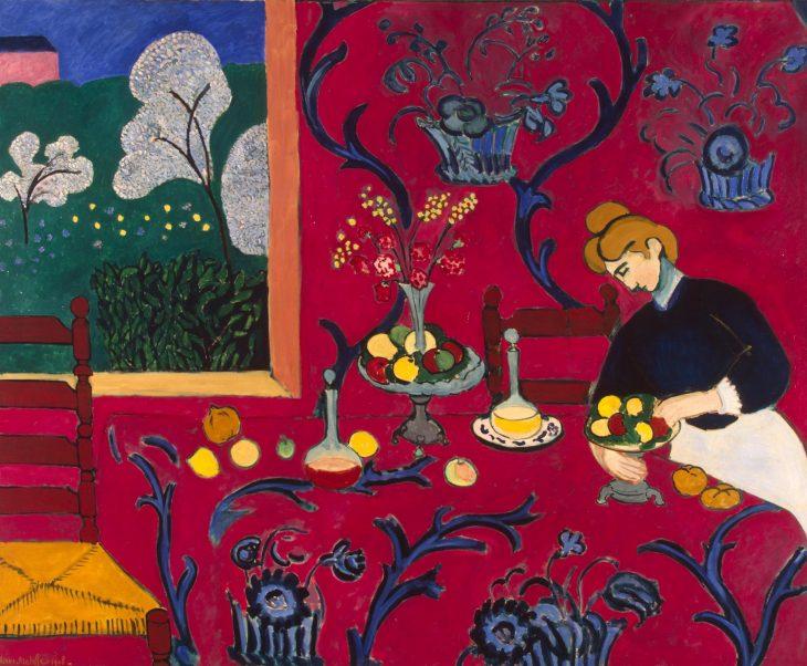 Matisse La habitación roja 1908