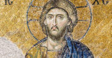 Arte bizantino Cristo Pantocrátor mosaico del siglo XII miniatura
