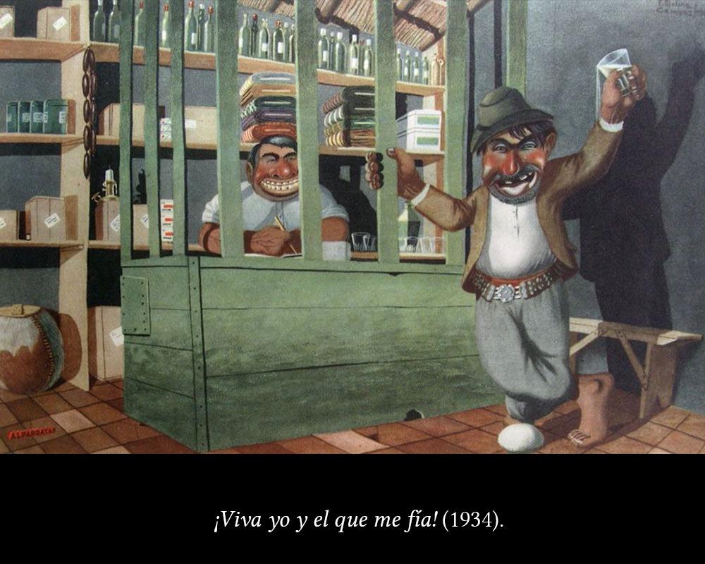 Florencio Molina Campos, costumbrismo con humor. - 3 minutos de arte