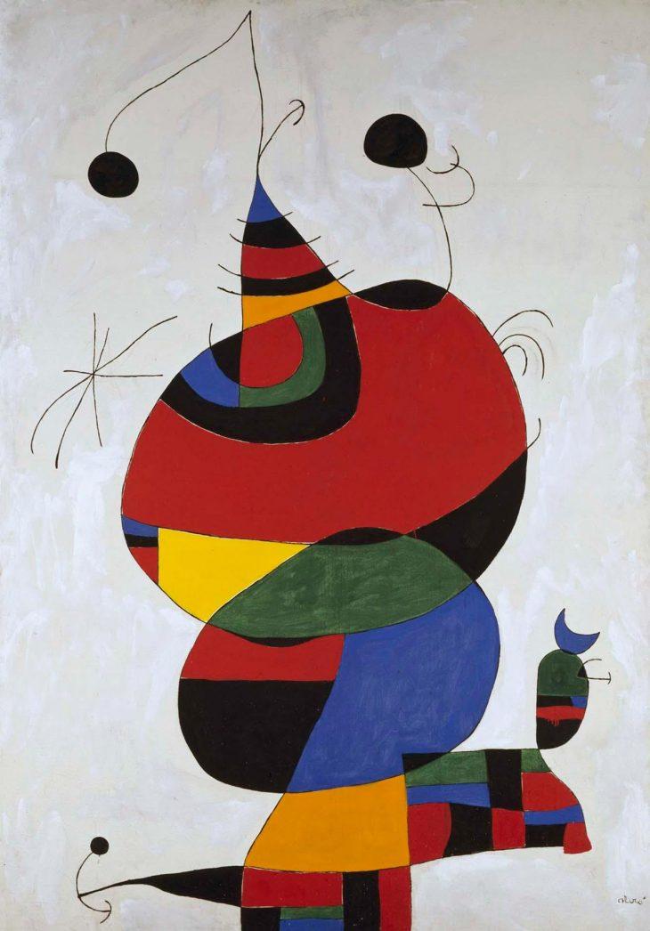 Homenaje de Joan Miró a Picasso