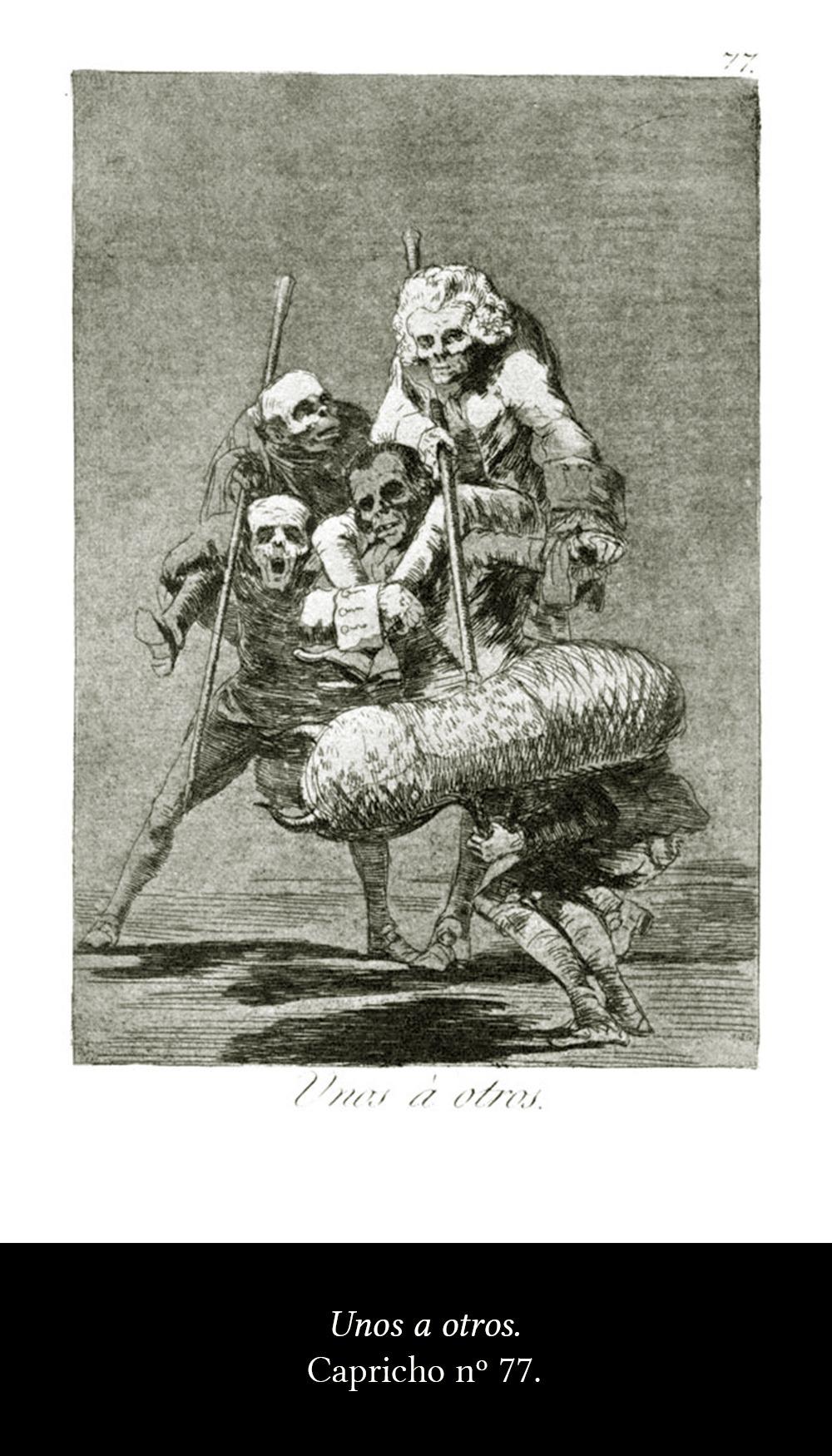 Los caprichos de Goya. - 3 minutos de arte